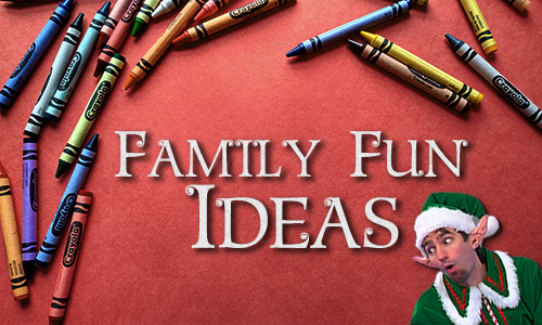 Family Fun Ideas in the Blog